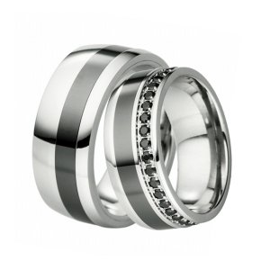 SKS-88099 Ocelové snubní prsteny SKS-88099