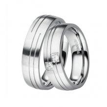 Titanové snubní prsteny TR-88025