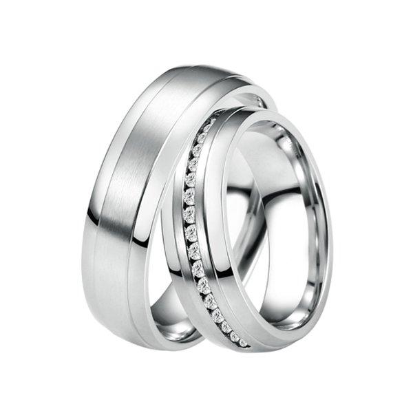ST-88082 Ocelové snubní prsteny ST-88082