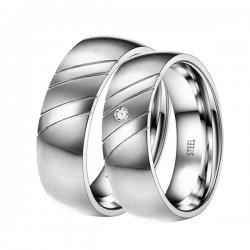 Ocelové snubní prsteny ST-88051