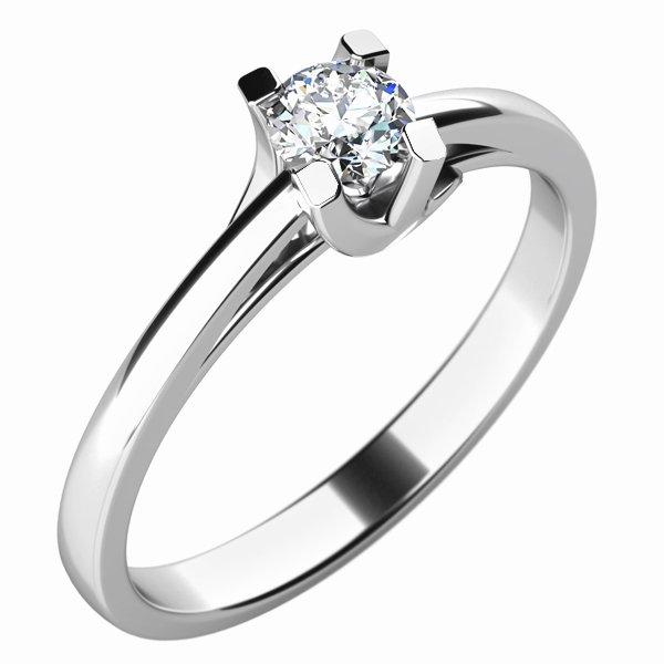 Dámský prsten s diamantem 10764D