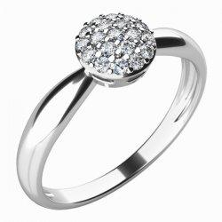 Dámský prsten s diamanty 10767D