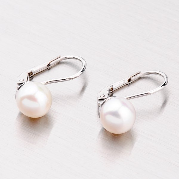 Náušnice s perlou 358-0185
