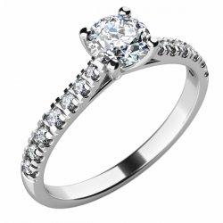 Zásnubní prsten se zirkony ZP-10759