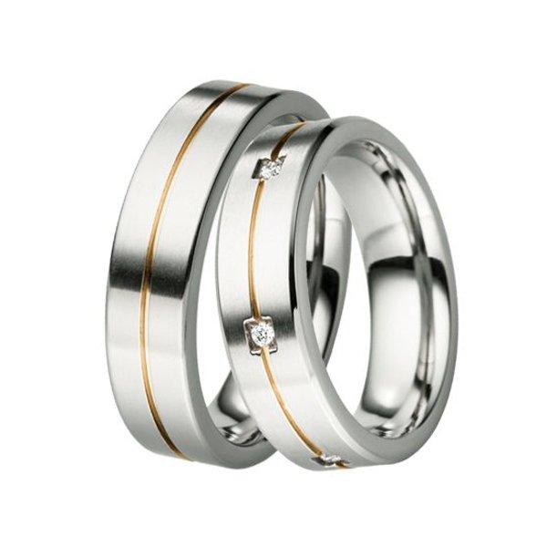 Titanové snubní prsteny TR-88024