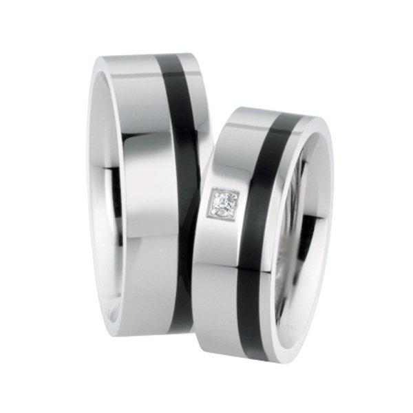 Ocelové snubní prsteny ST-88070