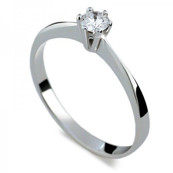 Dámský prsten s diamantem DF1877