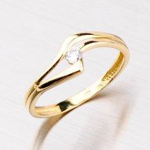 Elegantní zlatý prsten 451-5047
