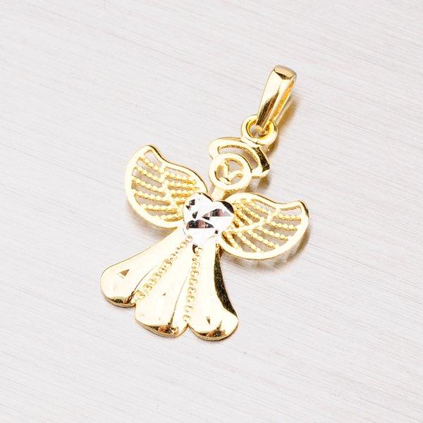 Zlatý přívěsek anděla 112-1082