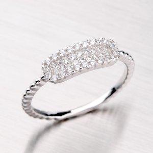 Prsten se zirkony ze stříbra RXC04140212
