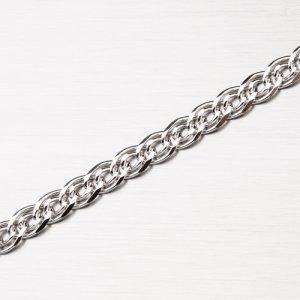 Stříbrný řetízek Grand s rhodiováním CHRS-NONNA-080-Rh
