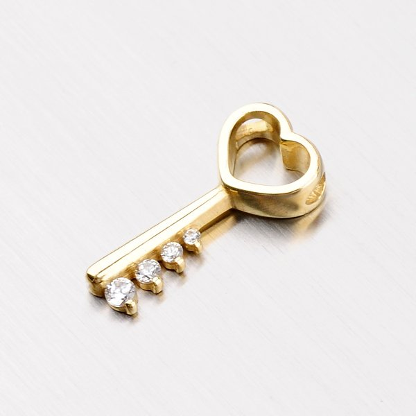 Přívěsek ve tvaru klíče DZ1921ZL