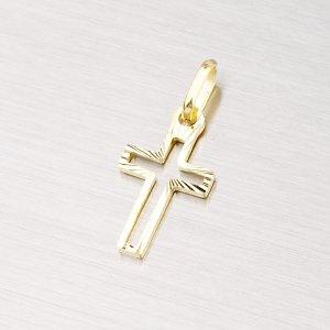 Křížek ze žlutého zlata 43-2265