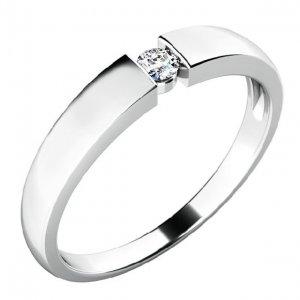 Zásnubní prsten se zirkonem ZP-10771