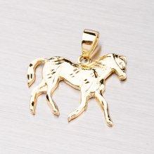 Zlatý přívěsek - kůň 43-21176