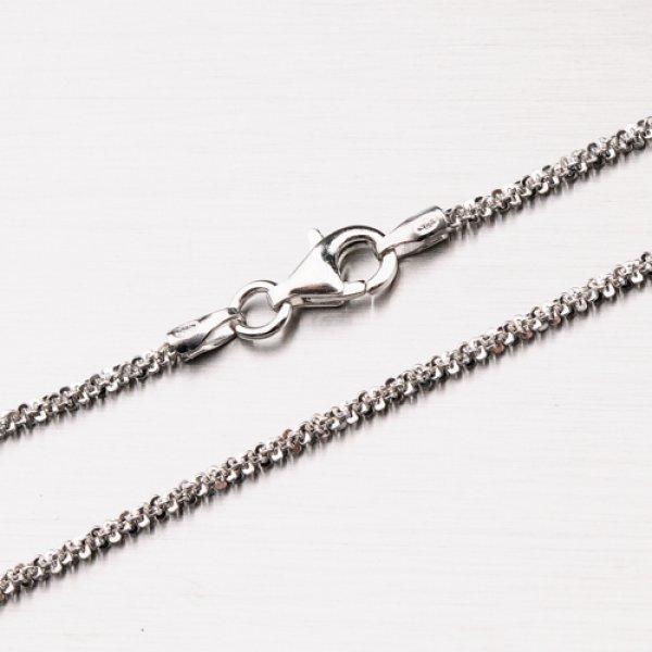 Stříbrný řetízek s rhodiováním CHRS-ROCK-030