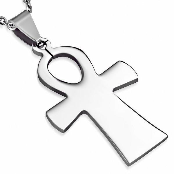Ocelový kříž GPLY609