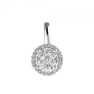 Diamantový přívěsek z bílého zlata GKW54353