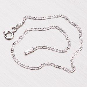 Gravírovaný stříbrný náramek CHRS-10-040-PAVE2L-RH