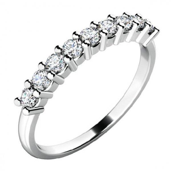 Zásnubní prsten se zirkony ZP-10772