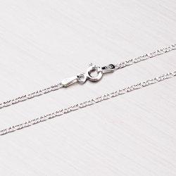 Gravírovaný stříbrný řetízek CHRS-10-040-PAVE2L-RH