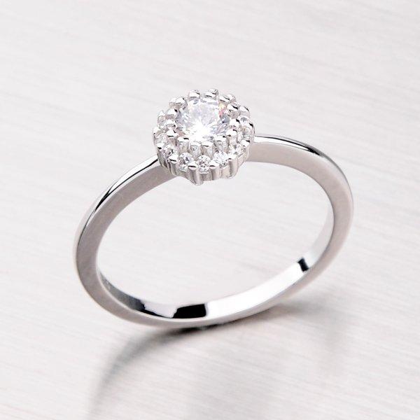Rhodiovaný prsten ze stříbra RXC04140131