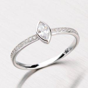 Rhodiovaný prsten ze stříbra RXC15140058ZIR