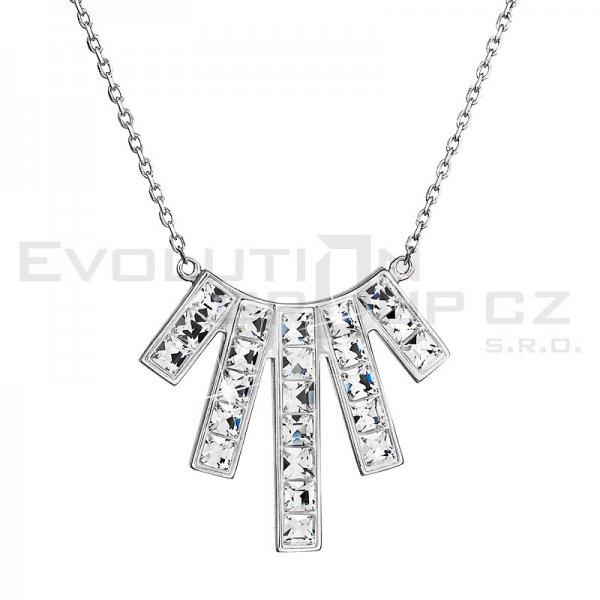 Náhrdelník se Swarovski ELEMENTS 32024.1 - Crystal