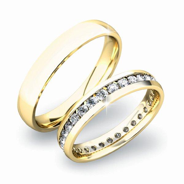 SP-61033 Snubní prsteny ze zlata SP-61033