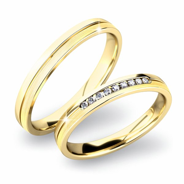 SP-61042 Snubní prsteny SP-61042
