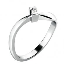 Zásnubní prsten s diamantem ZP-10784D