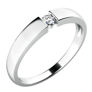 Dámský prsten s diamantem 10771D