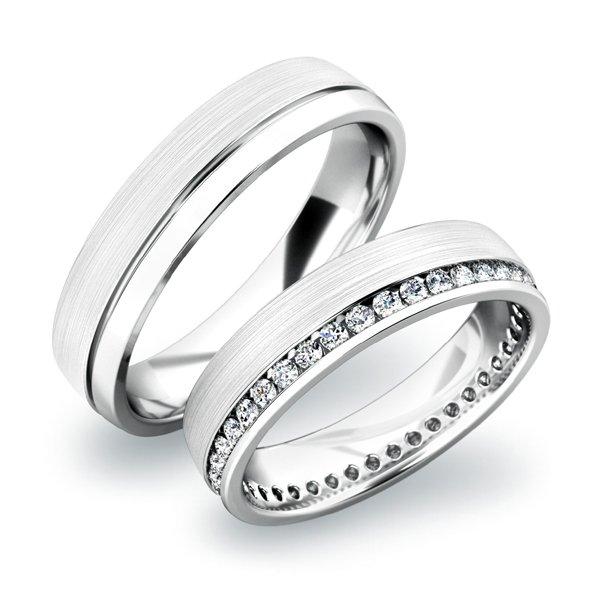 SP-61035 Zlaté snubní prsteny SP-61035B