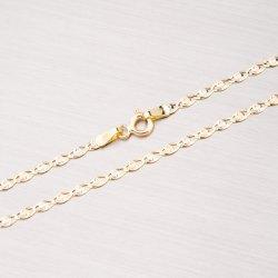 Kombinovaný zlatý řetízek 45-1424