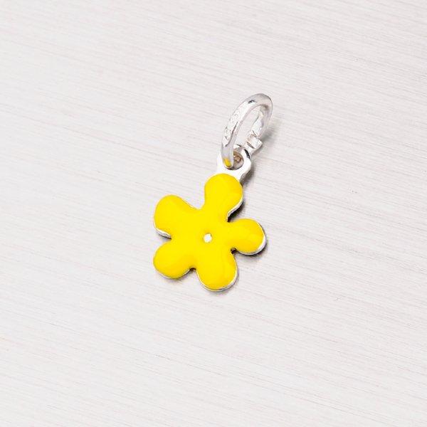 Přívěsek ve tvaru kytičky MPN971SM-Yellow