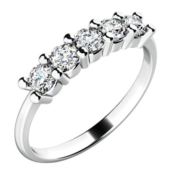 Dámský prsten s diamanty 10773D