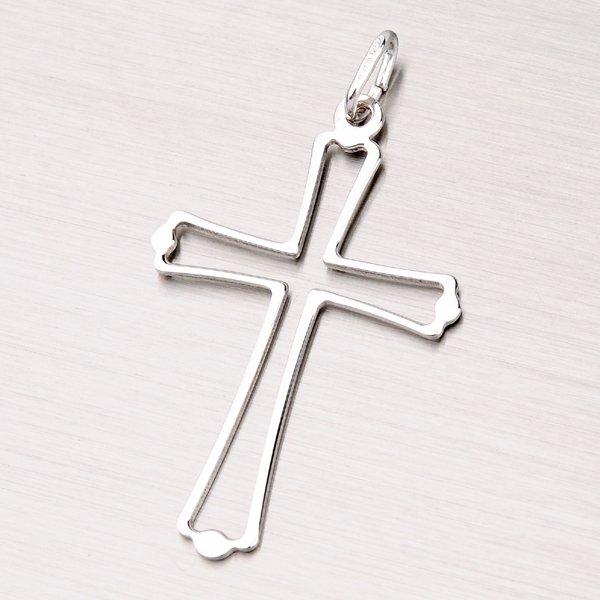 Stříbrný kříž M5204
