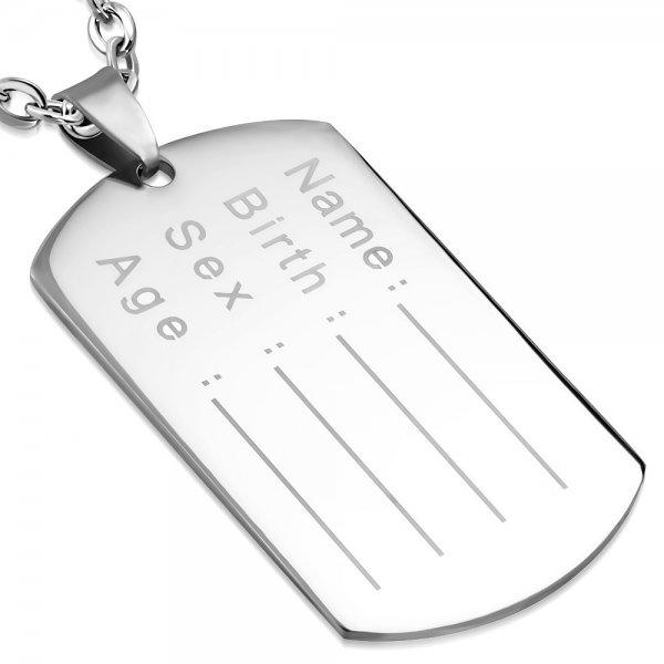 Ocelová destičla GBPC338