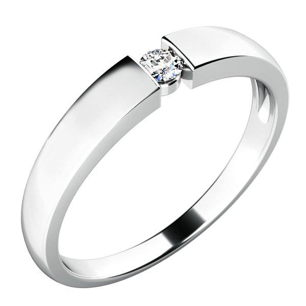 Zásnubní prsten s diamantem ZP-10771D