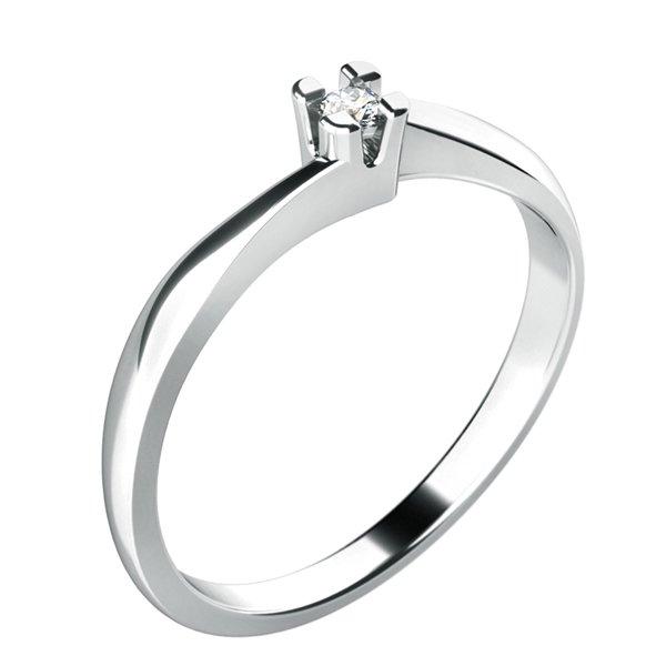 Dámský prsten s diamantem 10780D