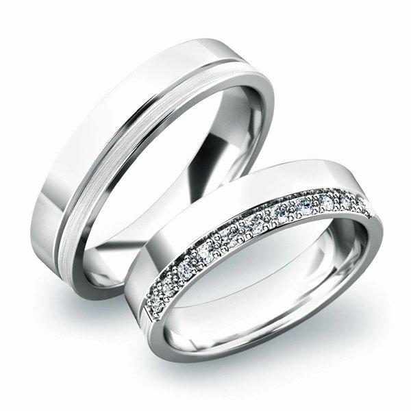 Zlaté snubní prsteny SP-61039