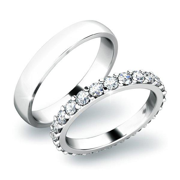 Snubní prsteny zlaté SP-61029