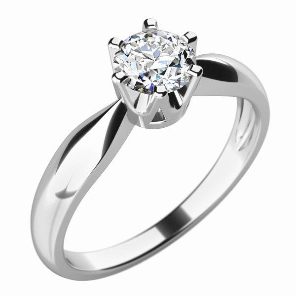 Zásnubní prsten s diamantem ZP-10763D