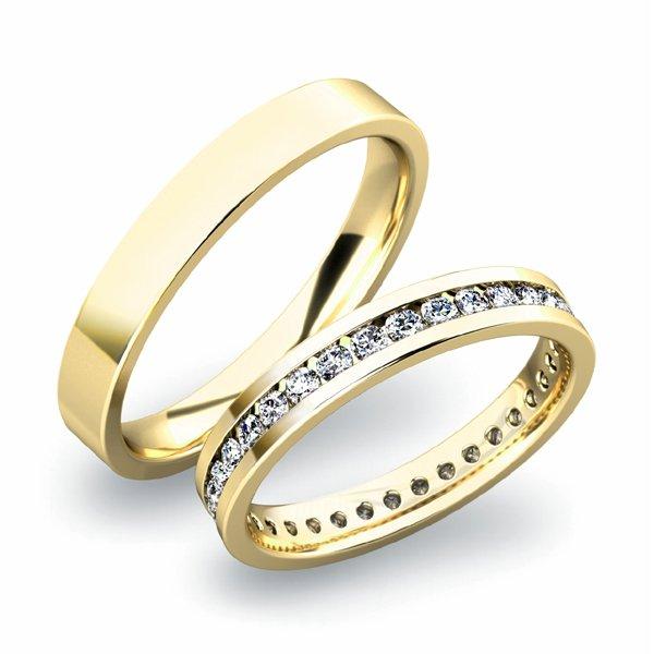 SP-61032 Snubní prsteny ze zlata SP-61032
