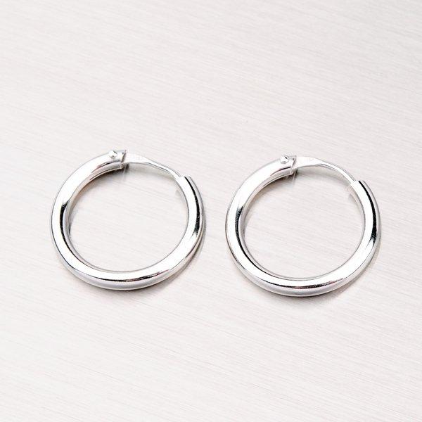 Stříbrné kruhy M6982