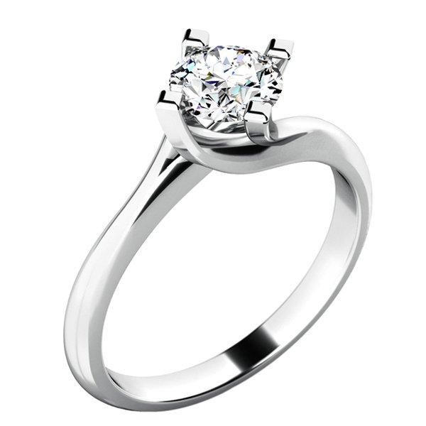 Dámský prsten s diamantem 10779D