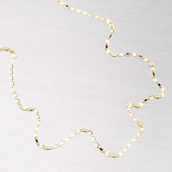 Zlatý náramek zdobený gravírováním 44-1405