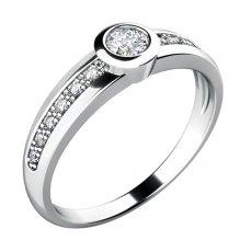 Dámský prsten s diamanty 10778D