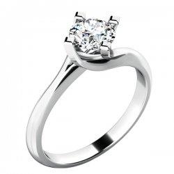 Zásnubní prsten se zirkonem ZP-10779