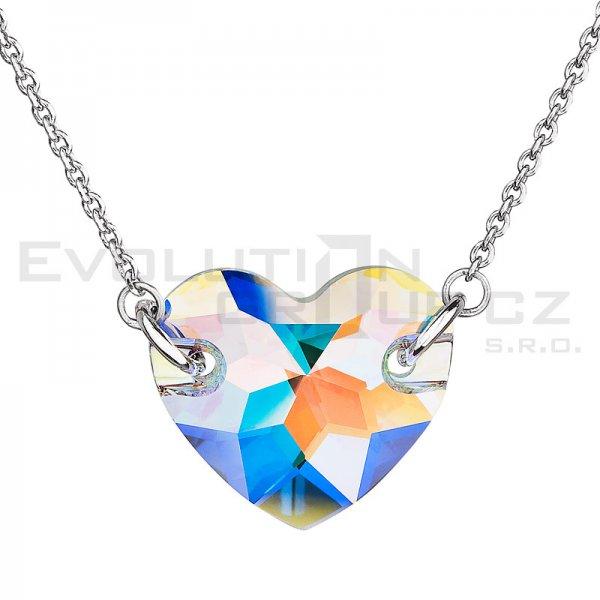 Náhrdelník se Swarovski ELEMENTS 32021.2 - Crystal-AB